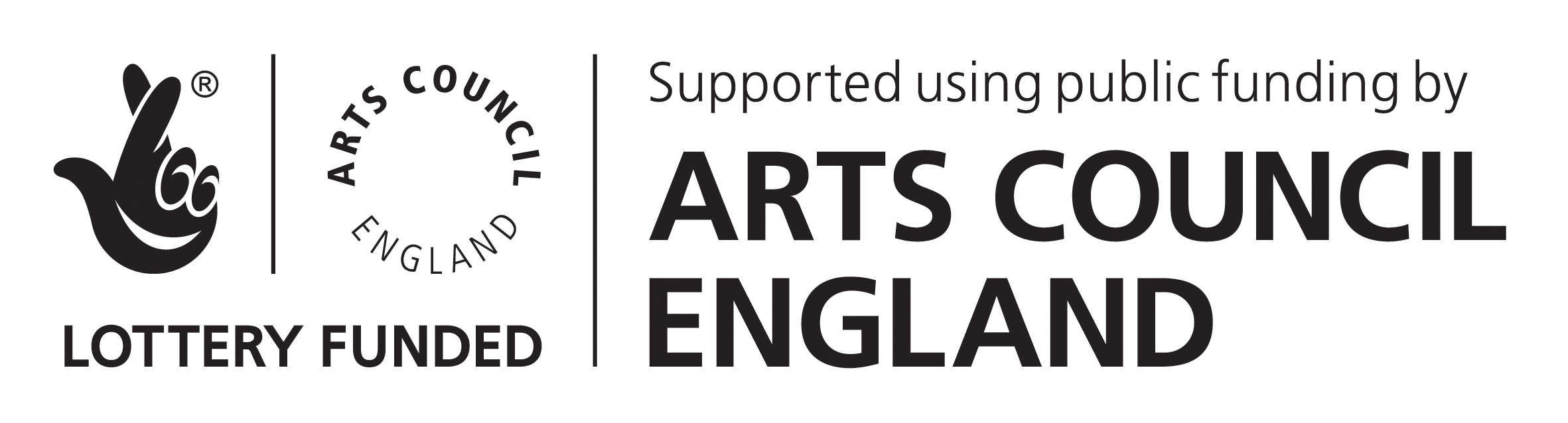 Arts Council Lottery Funding Logo